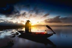 Pescador Foto de Stock Royalty Free
