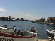 Pescador Boat fotografia de stock