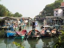 Pescador Boat Imagen de archivo