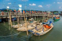 Pescador Boat Fotos de archivo libres de regalías
