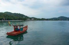 Pescador Boat imagem de stock