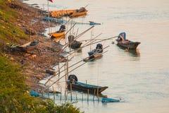 Pescador Boat Foto de archivo