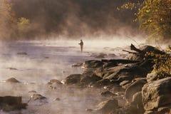 Pescador da mosca Imagem de Stock