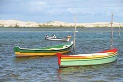 Pescador de los barcos Fotos de archivo