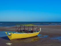Pescador do barco Imagens de Stock Royalty Free