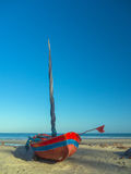 Pescador do barco Imagem de Stock Royalty Free