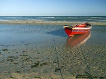 Pescador do barco Fotografia de Stock Royalty Free