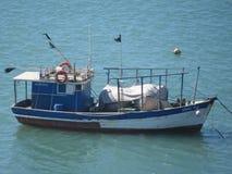 Pescador do barco Foto de Stock Royalty Free