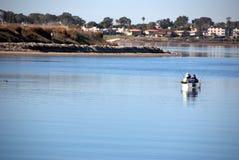 Pescador dos Imagenes de archivo