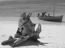 Pescador malgache imagen de archivo libre de regalías
