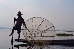 Pescador pobre Fotos de archivo