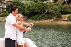 Pescador 'sexy' Imagens de Stock Royalty Free