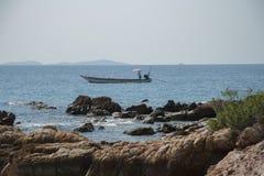 Pescador tailandés Imágenes de archivo libres de regalías