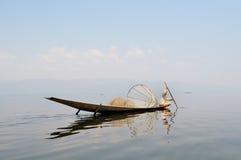 Pescador tradicional Fotos de Stock
