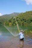 Pescadoras tailandesas em Tailândia Fotografia de Stock Royalty Free