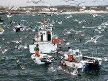 Pescadores Fotografía de archivo