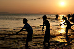 Pescadores 2 Imagen de archivo libre de regalías