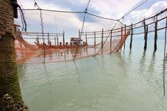 Pescadores foto de stock