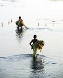Pescadores Imagens de Stock