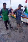 Pescadores Fotografía de archivo libre de regalías