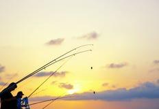 Pescadores Imagen de archivo libre de regalías