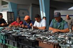 Pescadores imagen de archivo