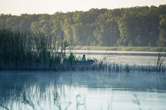 pescadores Fotografia de Stock Royalty Free
