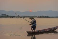 pescadores Imagem de Stock Royalty Free