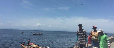 Pescadores Images libres de droits