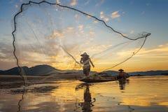pescadores Imagem de Stock