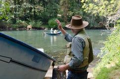 Pescadores companheiros Foto de Stock Royalty Free