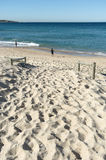 Pescadores Cronulla de la playa Imágenes de archivo libres de regalías