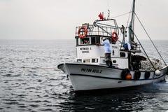 Pescadores da cidade de Cinarcik Imagem de Stock