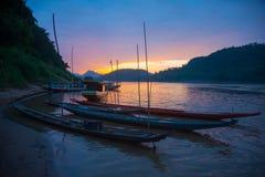 Pescadores del Mekong Imagen de archivo libre de regalías