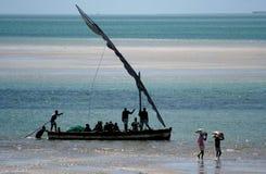 Pescadores do arquipélago Fotografia de Stock Royalty Free