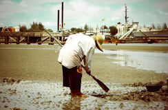Pescadores do modo de vida imagens de stock