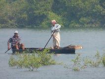 Pescadores indios Fotografía de archivo