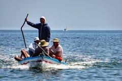 Pescadores no karkennah fotografia de stock royalty free