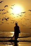 Pescadores omanenses Foto de Stock