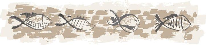 Pescados Ilustración del Vector