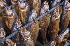 Pescados ahumados Foto de archivo libre de regalías