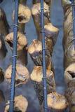 Pescados ahumados foto de archivo