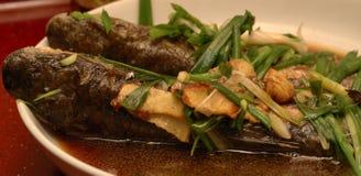 Pescados cocinados Fotografía de archivo