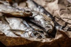 Pescados curados Imagen de archivo libre de regalías