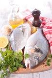 Pescados de Dorado Fotografía de archivo libre de regalías