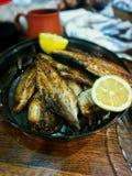 pescados de la barbacoa Fotografía de archivo libre de regalías