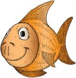 Pescados de la historieta Imagenes de archivo