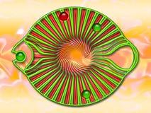Pescados de la joya ilustración del vector