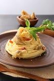 Pescados de los espaguetis. Imágenes de archivo libres de regalías