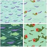 Pescados de mar Imagen de archivo libre de regalías